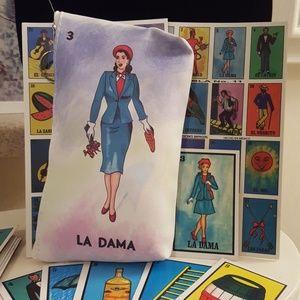 Handbags - Loteria inspired makeup bag